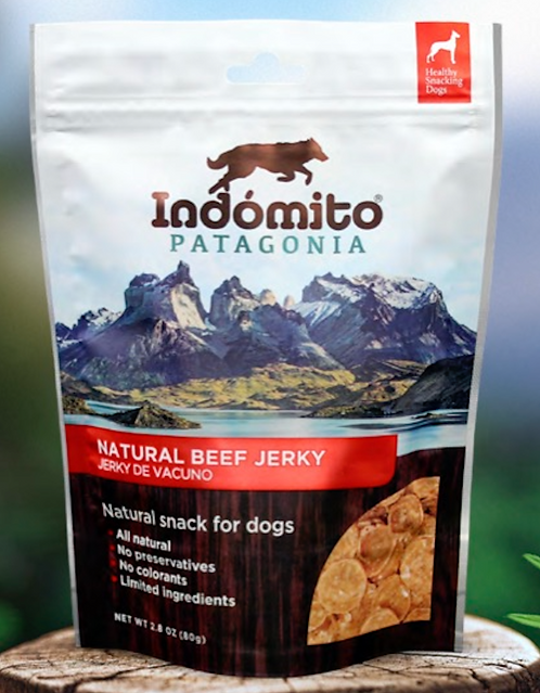 Beef - Organic Jerky Dog Treat (4 units box / $4.49 per unit)