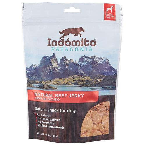 Beef - Organic Jerky Dog Treats - 12 units box