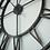 Thumbnail: Oversized Roman Iron Wall Clock