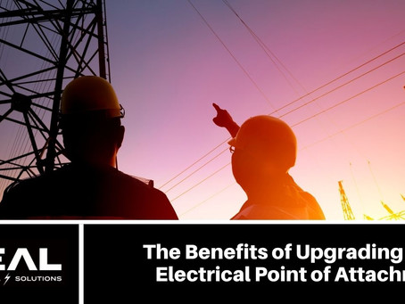 The Benefits of Upgrading Your Electrical Point of Attachment