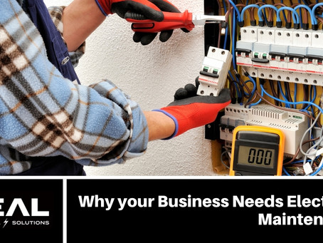 Why your Business Needs Electrical Maintenance