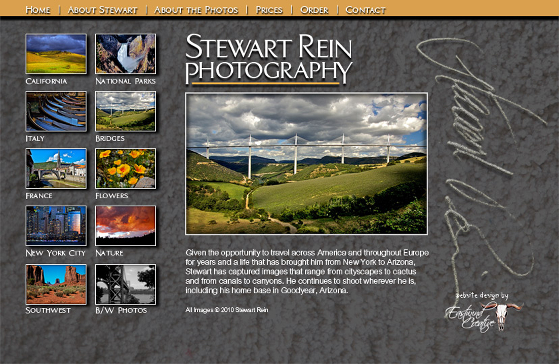 Stew Rein Website