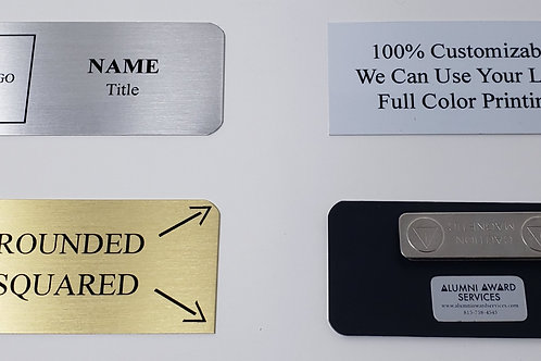 Metal Name Tag