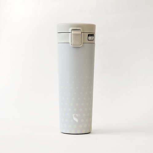Raindrops Porcelain Thermal Flask with Mouth Piece