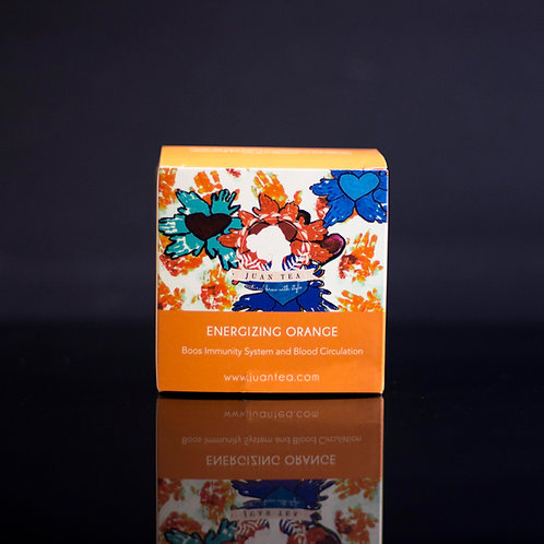 Energizing Orange Love and Kindness Edition
