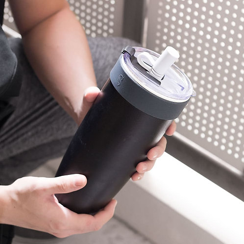 Swanz 芯動隨身杯 850ml + 吸管 + 杯袋