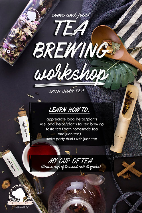 Tea Brewing Workshop at Muse Amuse