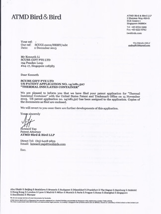 SWANZ 美國專利