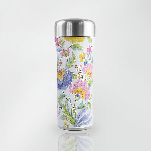 Ikigai White Thermal Tumbler