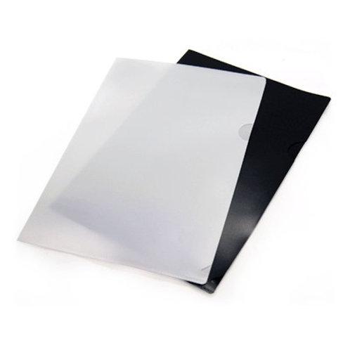 Opaque L-Shape Folder