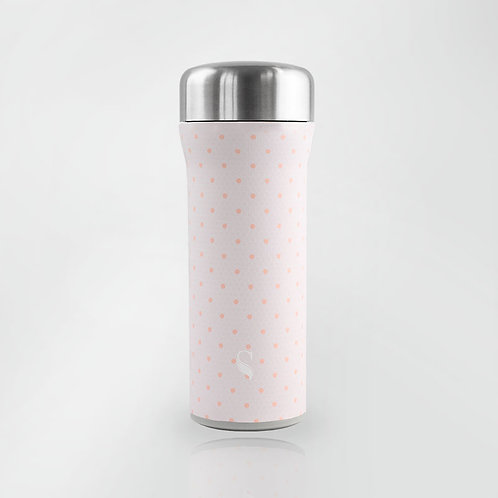 3D Pink Laces Thermal Tumbler