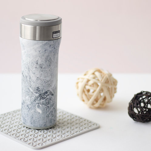 Kokoro Porcelain Thermal Flask - Printed Series (450ml)