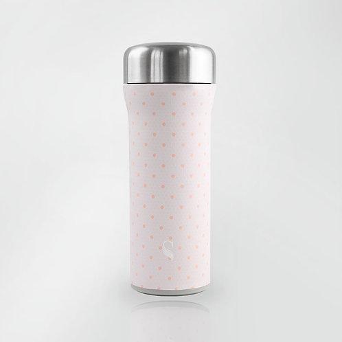 火炬杯系列-430ml(輕粉格紋)