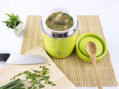 Cook Miso Soup with Food Warmer