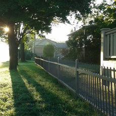 Sun rise on my house
