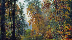 Ivan Ivanovich Shishkin (1832-1898) - Autumn in Pavlovsk , 1888