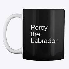 Percy the Labrador Mug