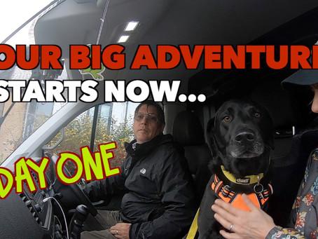 My Big Adventure has Started....