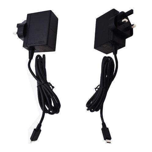Nintendo Switch | Replacement UK Power Adapter Refurbished Grade A | Original