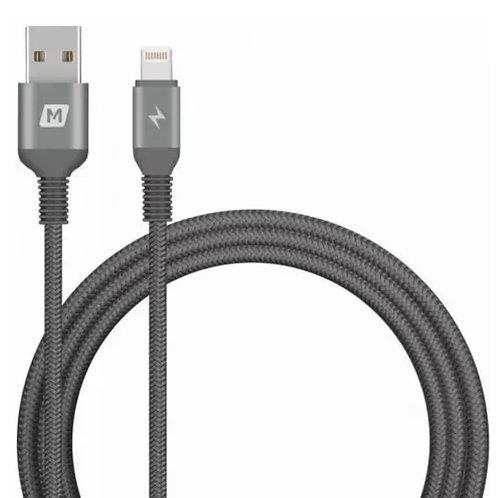MOMAX Elite Link | Triple Braided Nylon Lightning To USB Cable | 1.2M | MFI