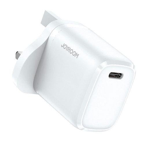 JoyRoom | 20W PD3.0 Fast Charger | USB-C | NRT-DY139U | White