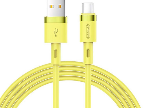 JoyRoom | Liquid Silicone Series | 2.4A USB-C | 1.2 Meter | YELLOW