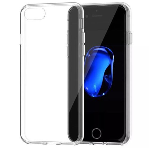 iPhone Ultra Thin Clear TPU case. For iPhone 5, 5C, 5S, 6, 6+, 6S+, SE, 7, 7+.