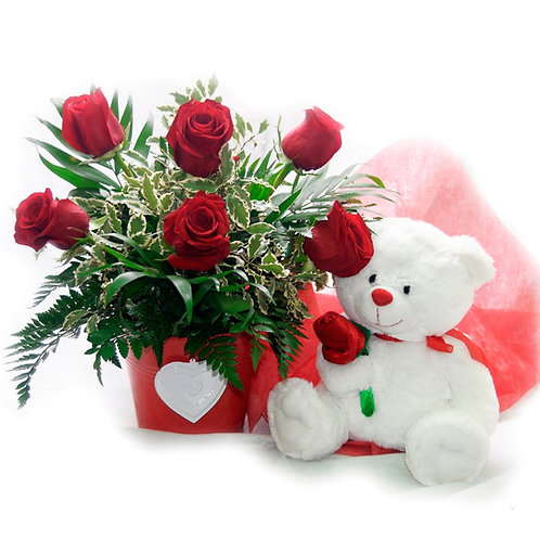 Rosas&Oso Navidad