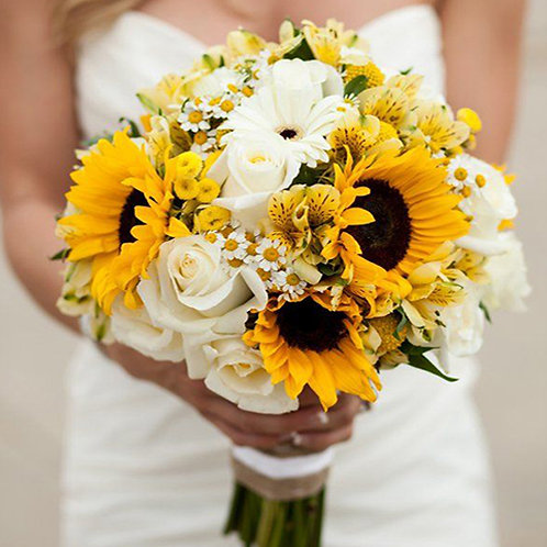 BOUQUETS GIRASOLES