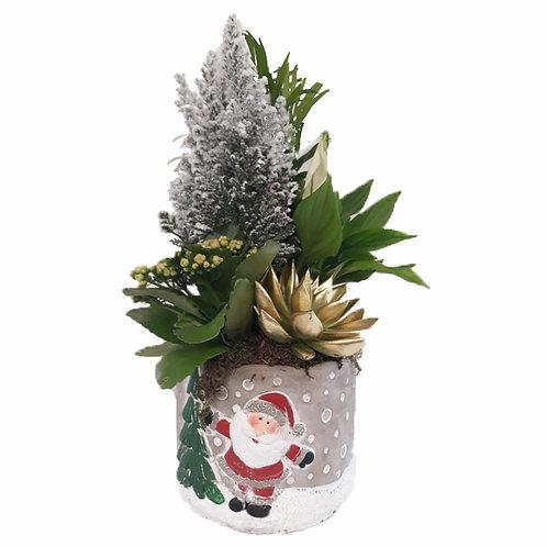Ceramica Papa Noel Navidad