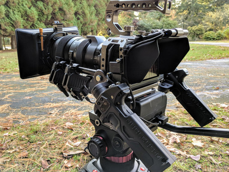 Blackmagic 6K All rigged out.