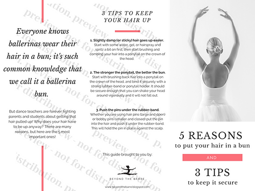 5 Reasons To Put Your Hair In A Bun + tips