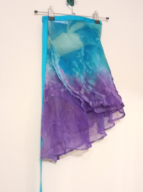 Ocean paradise wrap skirt