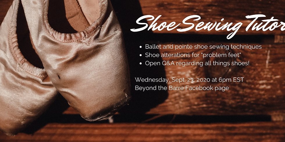 Shoe Sewing Party/Tutorials