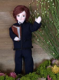 学生服の男の子