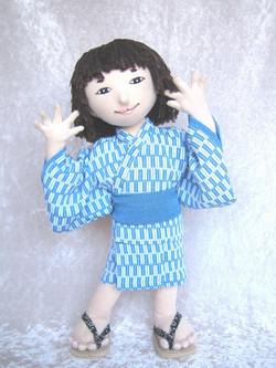 布人形亀麿くん