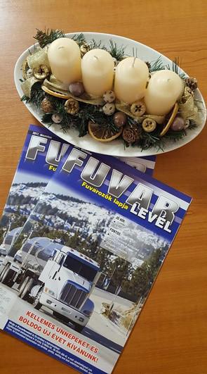 PR Cikk | Fuvarlevél - a fuvarozók lapja 2017. december