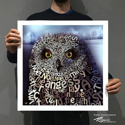 The First No-Owl Giclee Print