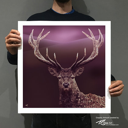 Proud Stag Giclee Print