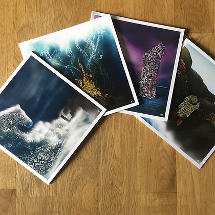 Orkney Isles Series 4 x Greetings Cards