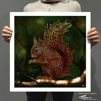Forrest Dweller Giclee Print