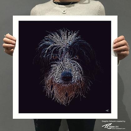 Working Dog Giclee Print