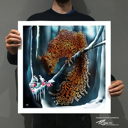 The Red Berry Giclee Print