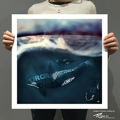 Orca Pod Giclee Print