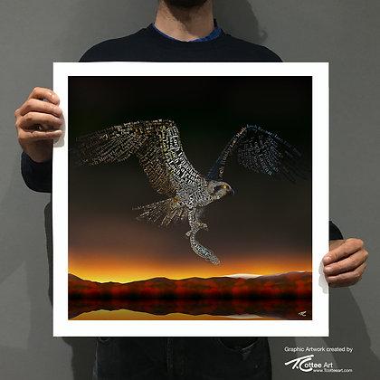Hunter on the Loch Giclee Print