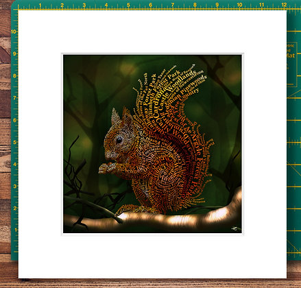 Forrest Dweller Mounted Giclee Print