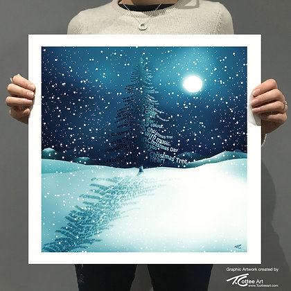 O Christmas Tree Giclee Print