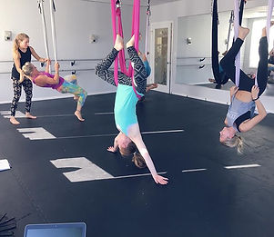 tween aerial drop in tomorrow (Wednesday) at 5!  #aerialyoga