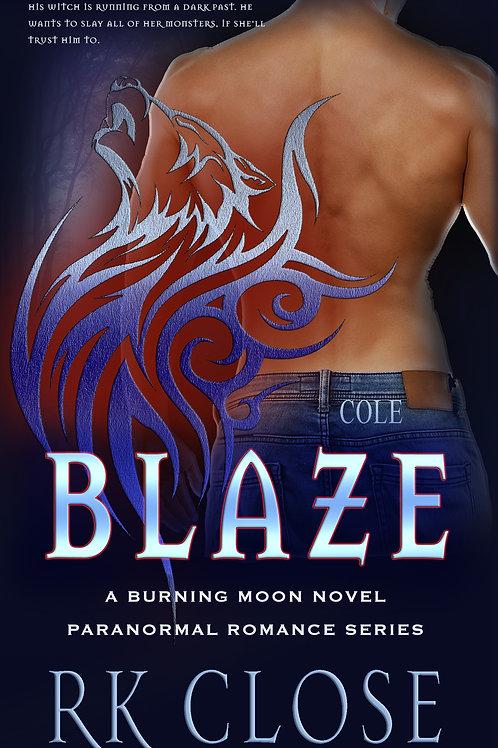 BLAZE ~ Burning Moon Series (Book #3)