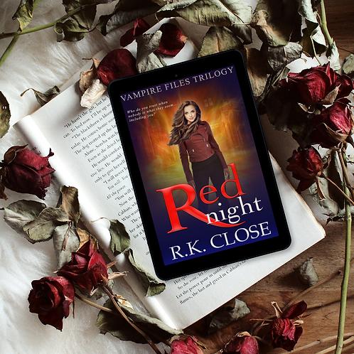Red Night: Paranormal Vampire Suspense Novel (Vampire Files Trilogy Book